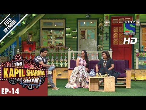 The Kapil Sharma Show -    Ep-14-Sania Mirza & Farah Khan  5th June 2016