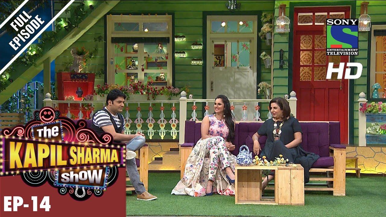 Download The Kapil Sharma Show - दी कपिल शर्मा शो–Ep-14-Sania Mirza & Farah Khan – 5th June 2016