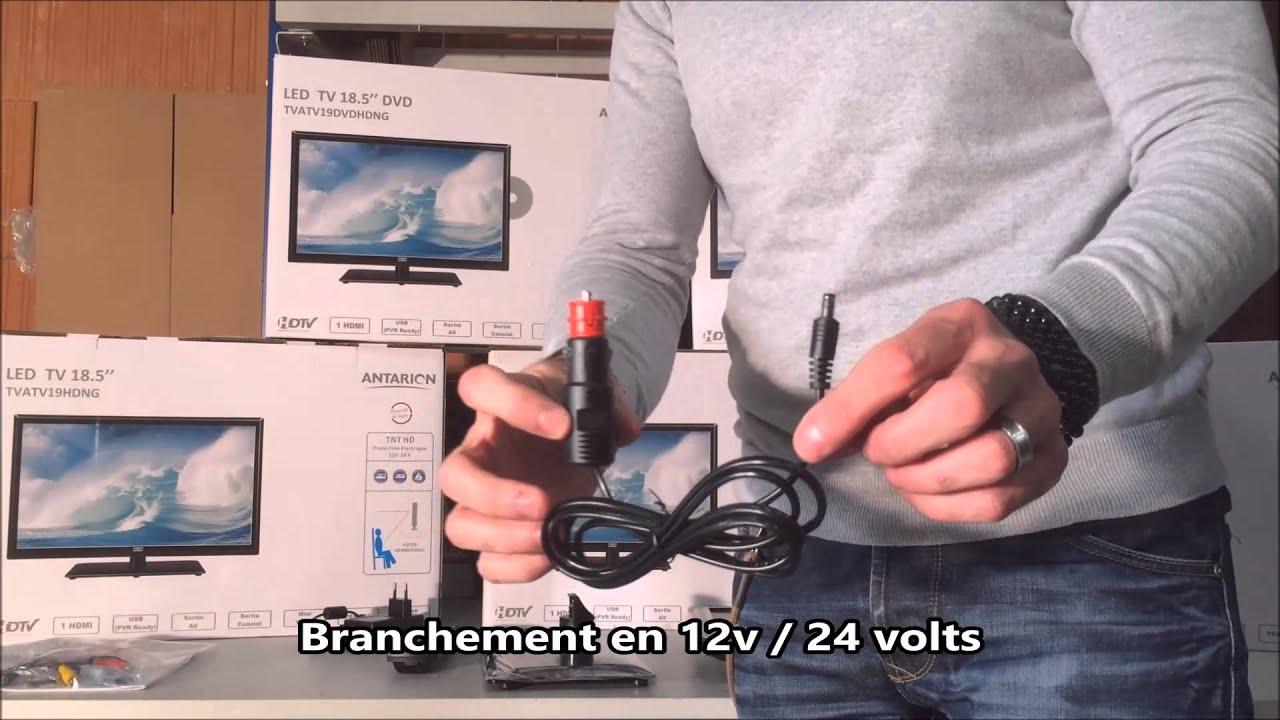Branchement 24 volts