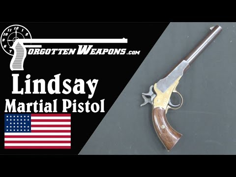 "Lindsay's ""Young American"" Martial Two-Shot Pistol"