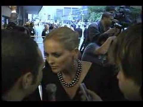 Sharon Stone at Toronto Int'l Film Festival Travel Video