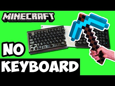 Can You Beat Minecraft Using Only a Mouse? - No Keyboard Challenge