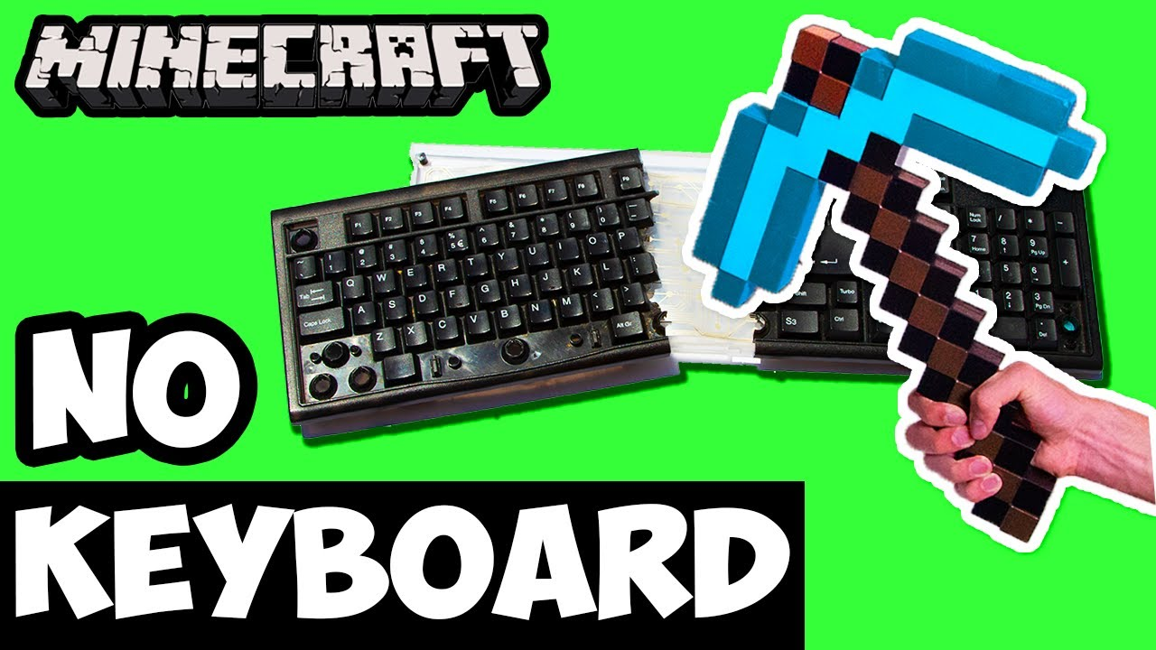 Can You Beat Minecraft Using Only a Mouse? – No Keyboard Challenge