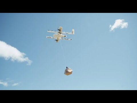 Google will use drones to deliver burritos in Australia