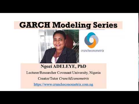 Basics Of GARCH Modeling    #garch #garchmodeling #financialeconometrics #garch-m #tgarch #egarch