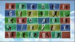 Hr Skæg - Alfabetsangen