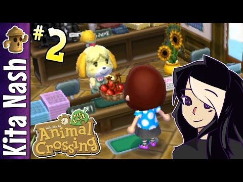 Animal Crossing New Leaf Gameplay Part Isabelles Gift