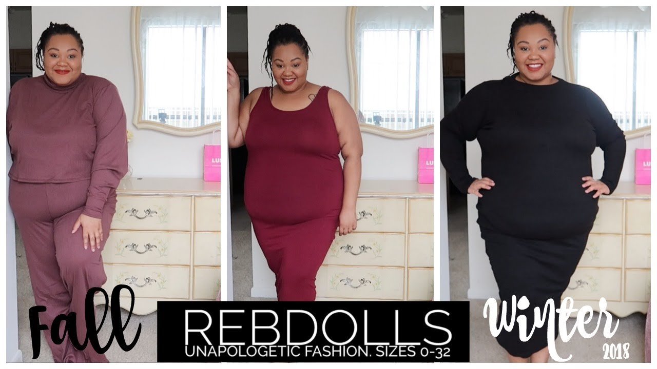 8785845e168 Rebdolls Fall + Winter Haul 2018 | Plus Size | Try-on - YouTube