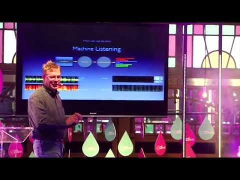 Web Summit 2014, Day 3. Music Stage. Paul Lamere, Spotify/The Echo Nest