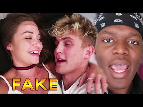 Jake Paul & Erika Costell Admit They FAKED Everything for VIEWS? KSI Gets CONFRONTED (FOOTAGE)