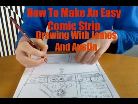 How to make an easy comic strip