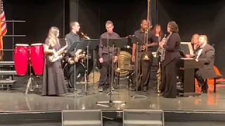 CCCC Jazz Band performing at the 2019 Holiday Concert