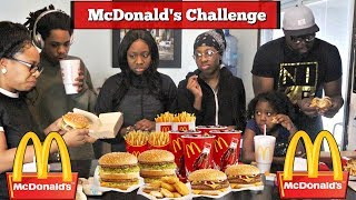connectYoutube - MCDONALD'S CHALLENGE | WHO CAN EAT IT WITHOUT THROWING UP!