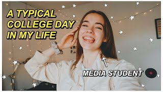 A TYPICAL DAY IN THE LIFE OF A COLLEGE STUDENT!