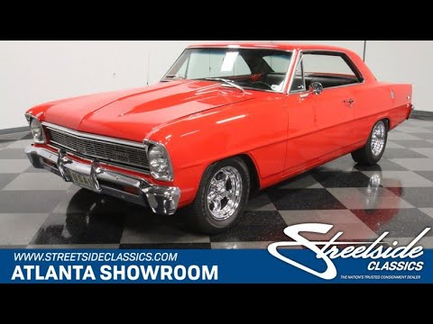 1966 Chevrolet Nova For Sale   5022 ATL