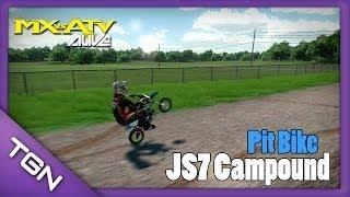 MX vs ATV Alive    FreeRide - JS7 Campound - Pit Bike    PS3 - HD