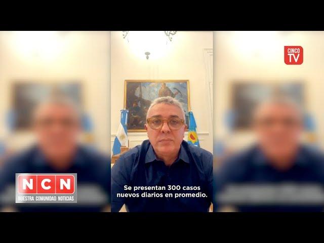 CINCO TV - Julio Zamora toma medidas por la grave situación de Covid en Tigre