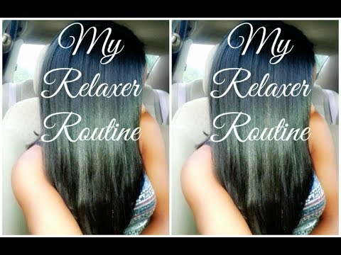 My 'at Home' Relaxer Routine