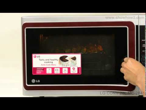 Lg Mc 2841sps Convection Microwave Oven How To Use Combination Mode 2