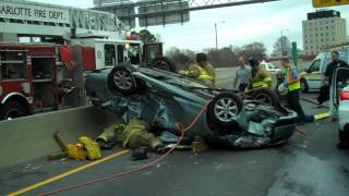 Traffic Collision w Entrapment Independence @ Albermarle Rd 11 27 2012