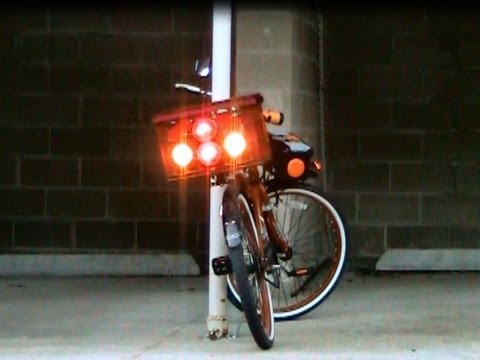 DIY Make Your Own Bike Or Bicycle Solar Power Lighting And Electrical System