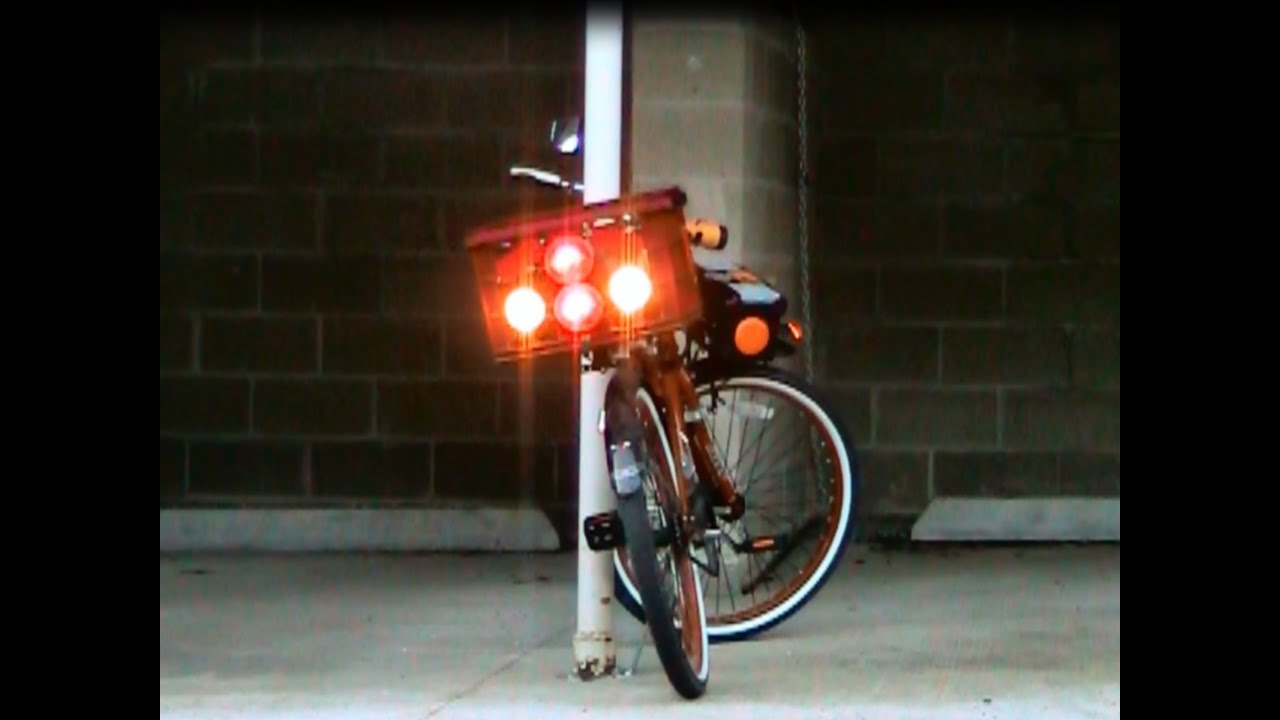 Diy Make Your Own Bike Or Bicycle Solar Power Lighting And