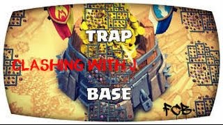 Clash of Clans | TH10 trap base with defense log and replays. Crystal / Masters tested pt2