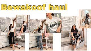 HONEST bewakoof.com review | T-shirt under RS 300 ! | Try - on haul | #stylewithnik #haul #shopping screenshot 4