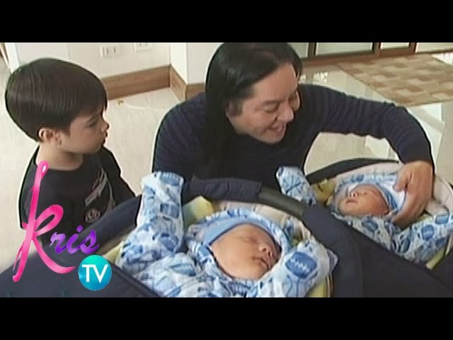 Kris TV: Joel and his babies