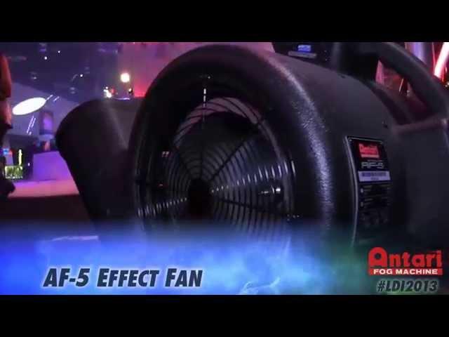 Antari LDI 2013 - W-715 Fog Jet (HD) # Fog Machine