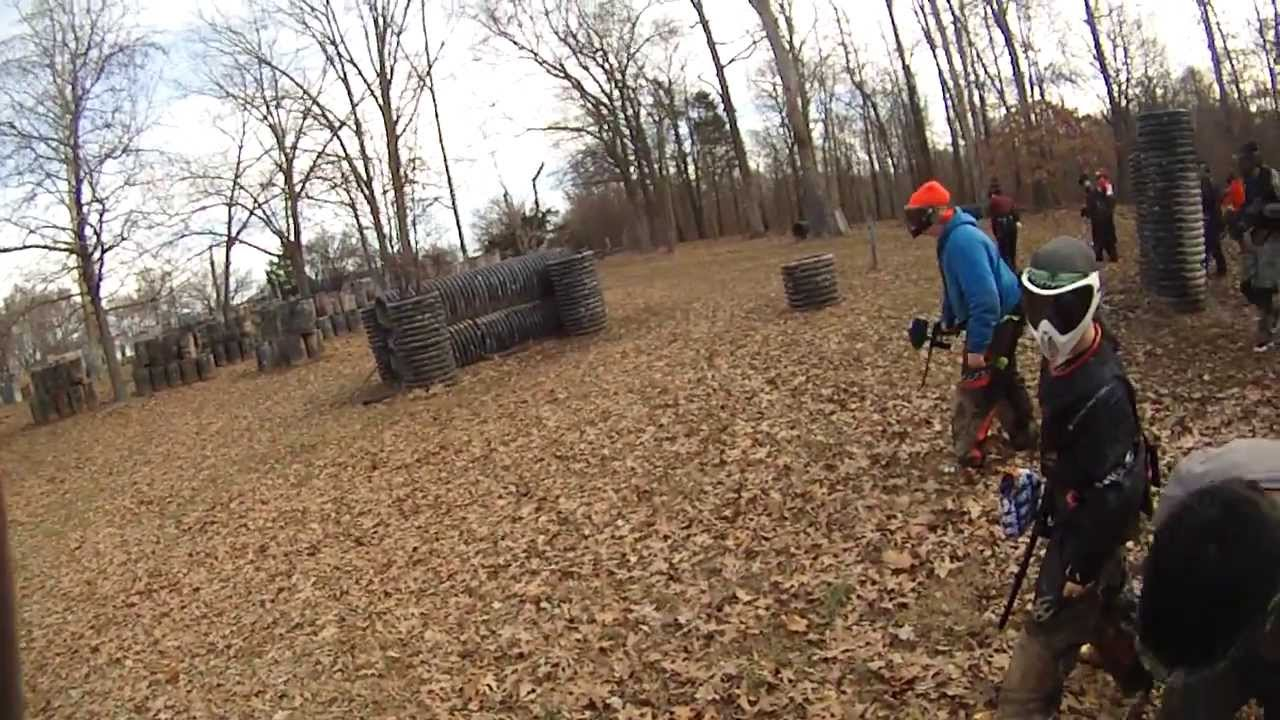 Memphis Paintball Park 2/16/14 Dodge-Zero-Pipes - YouTube