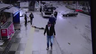 Ankara'da Çifte kaza kamerada