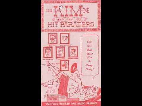 """KIMN Denver """"NEWSIC"""" 1960"""