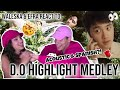 I SWEAR D.O. MADE THIS ALBUM FOR EFRA😭😂🤯   Siblings react to EXO's D.O highlight medley💨🏃♀️