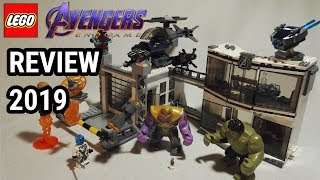 Polizeistation ?  Avengers HQ Review  LEGO Avengers Endgame 76131 Review