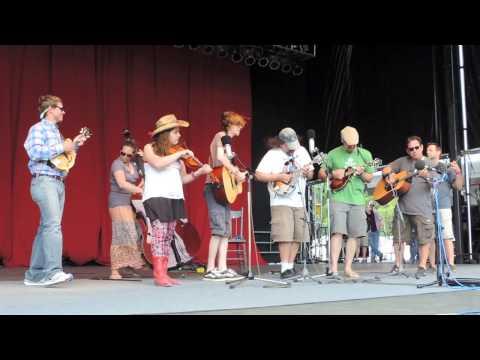 "Delfest Academy Band Scramble Winners ""Knockin On Heavens Door"""