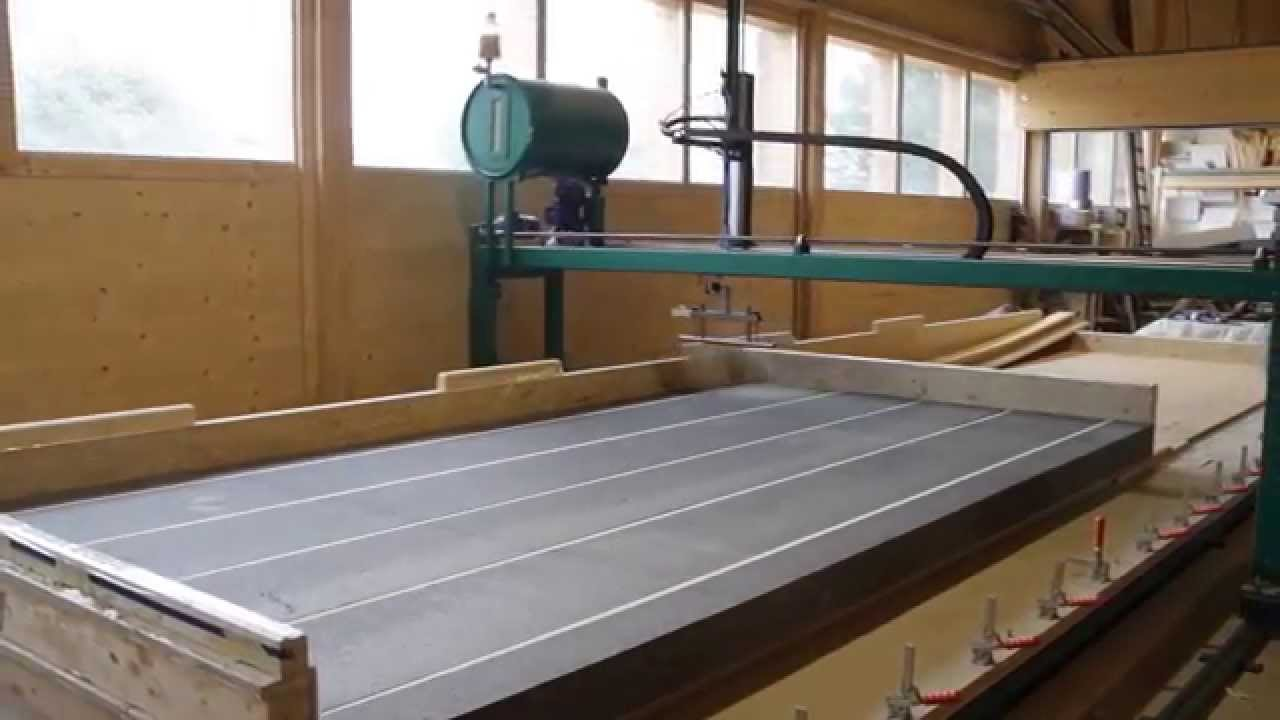 Statically Improved Sip Panel In Vacuum Press Youtube