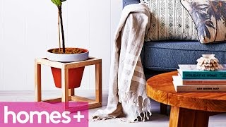 Diy Project: Indoor Plant Pot Stand - Homes+