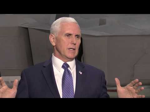 VP Pence In Alaska -Tour And News Conference