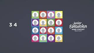 Junior Eurovision Song Contest- Tbilisi 2017