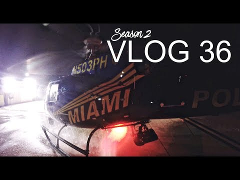 Miami Police VLOG: Night Patrol with our Helicopter Air Unit