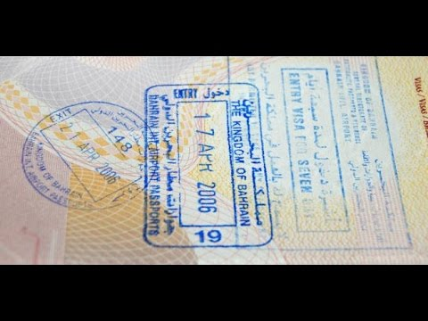How to check your visa for Bahrain