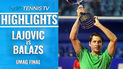 Lajovic Defeats Balazs to Lift First ATP Tour Title! | Umag 2019 Final Highlights