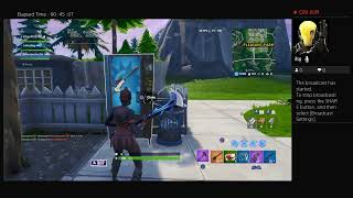 Random duos and trying to get a win on fortnite and Apex