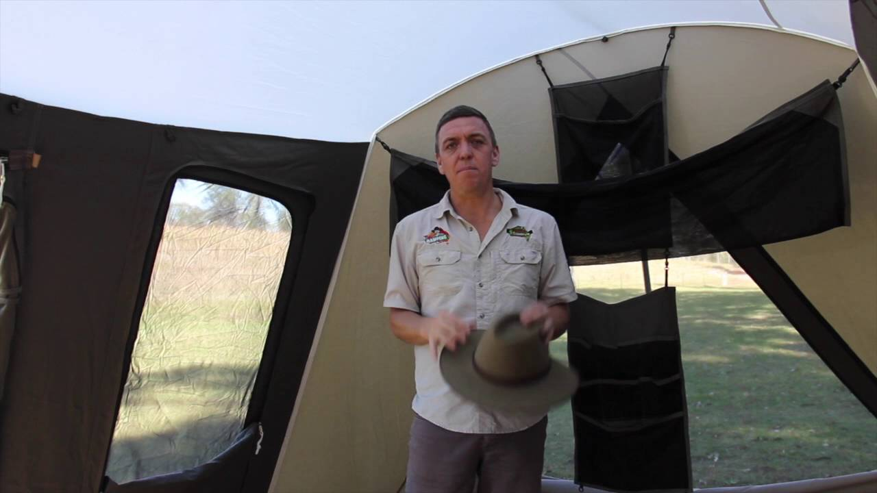 sc 1 st  YouTube & The Camping Guru   How to Season your Canvas Tent - YouTube