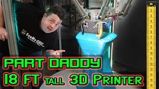 Worlds Largest 3D Printer Making Furniture! You won't believe it.