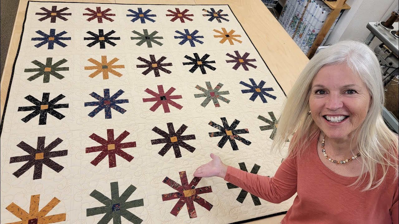 """SEW COOL TECHNIQUE!! LEARN TO MAKE A """"SLICE OF CAKE"""" QUILT!"""
