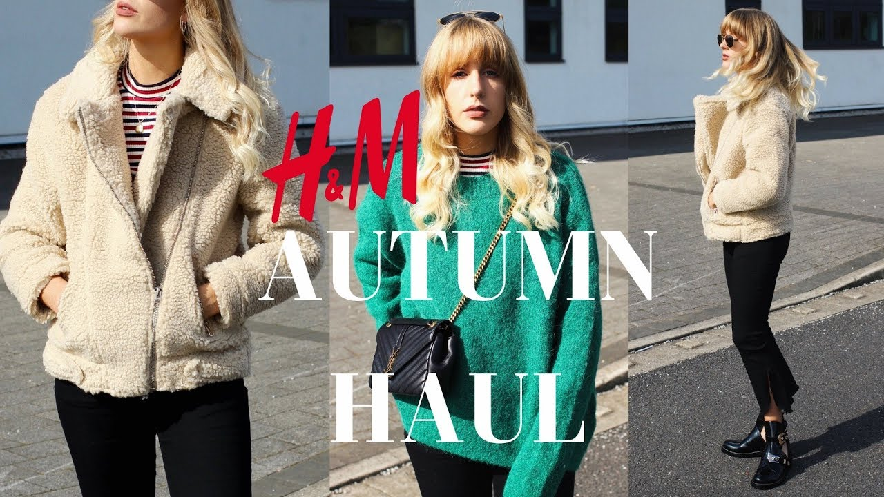 big discount quite nice best prices H&M AUTUMN FALL NEW IN HAUL TRY ON | High Street Haul Series - YouTube