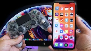 iOS 13 - How To Connect A PS4 CONTROLLER To iPhone Or iPad