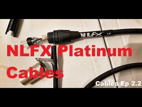 DJ Cables Ep 2.2   NLFX Pro Platinum XLR Cables   Comparison To Hosa Edge XLR